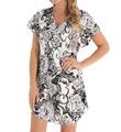 Amanda Rich Bias Cut Satin T-Shirt Gown 412-40P