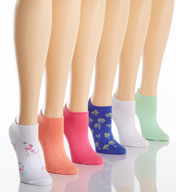 Hue Cotton Liner Socks - 6 Pack 6421