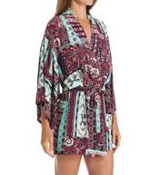 Josie by Natori Sleepwear Dynasty Scarf Happi Coat Z94002