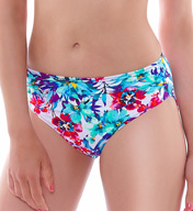Fantasie Sardinia Mid Rise Gathered Brief Swim Bottom FS6092